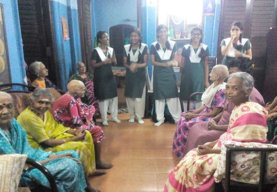 Old Age Home Visit
