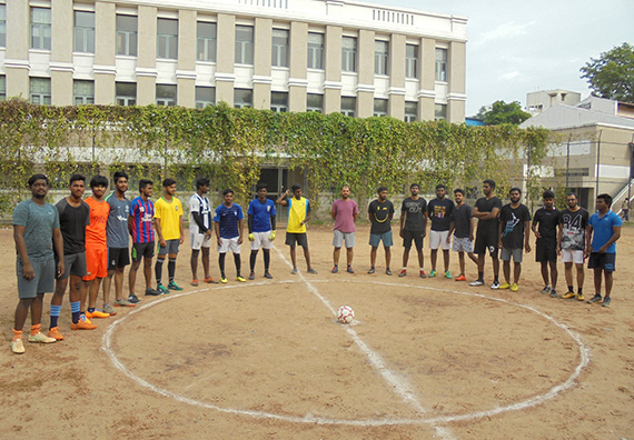 Alumni Football Match